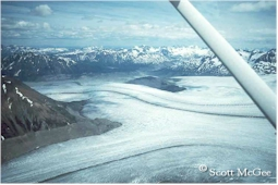 Trimlines provide graphic evidence of the downwasting of a glacier